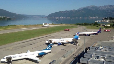 Tivat Airport to Podgorica Airport